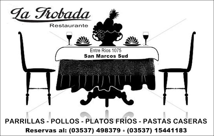ESPACIO PUBLICITARIO: LA TROBADA RESTAURANTE