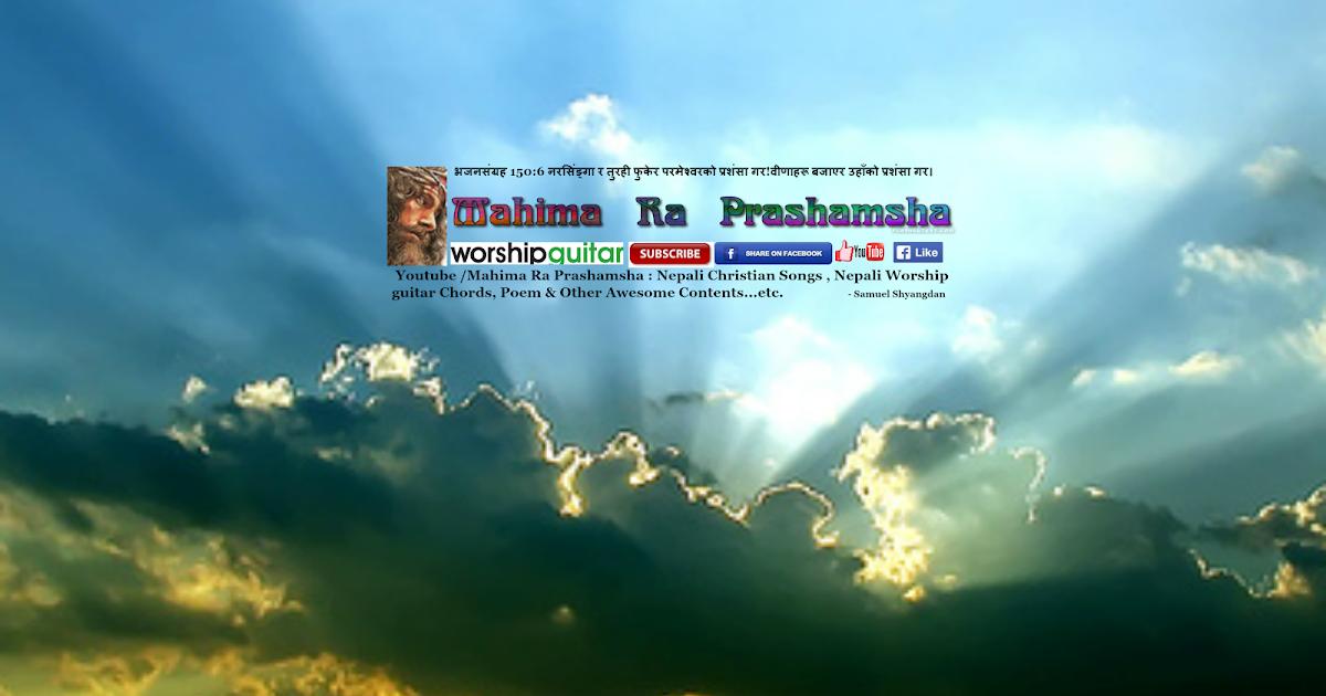 Nepali Christian Chorus -30 ( For beginner) : Chord & Lyrics ...