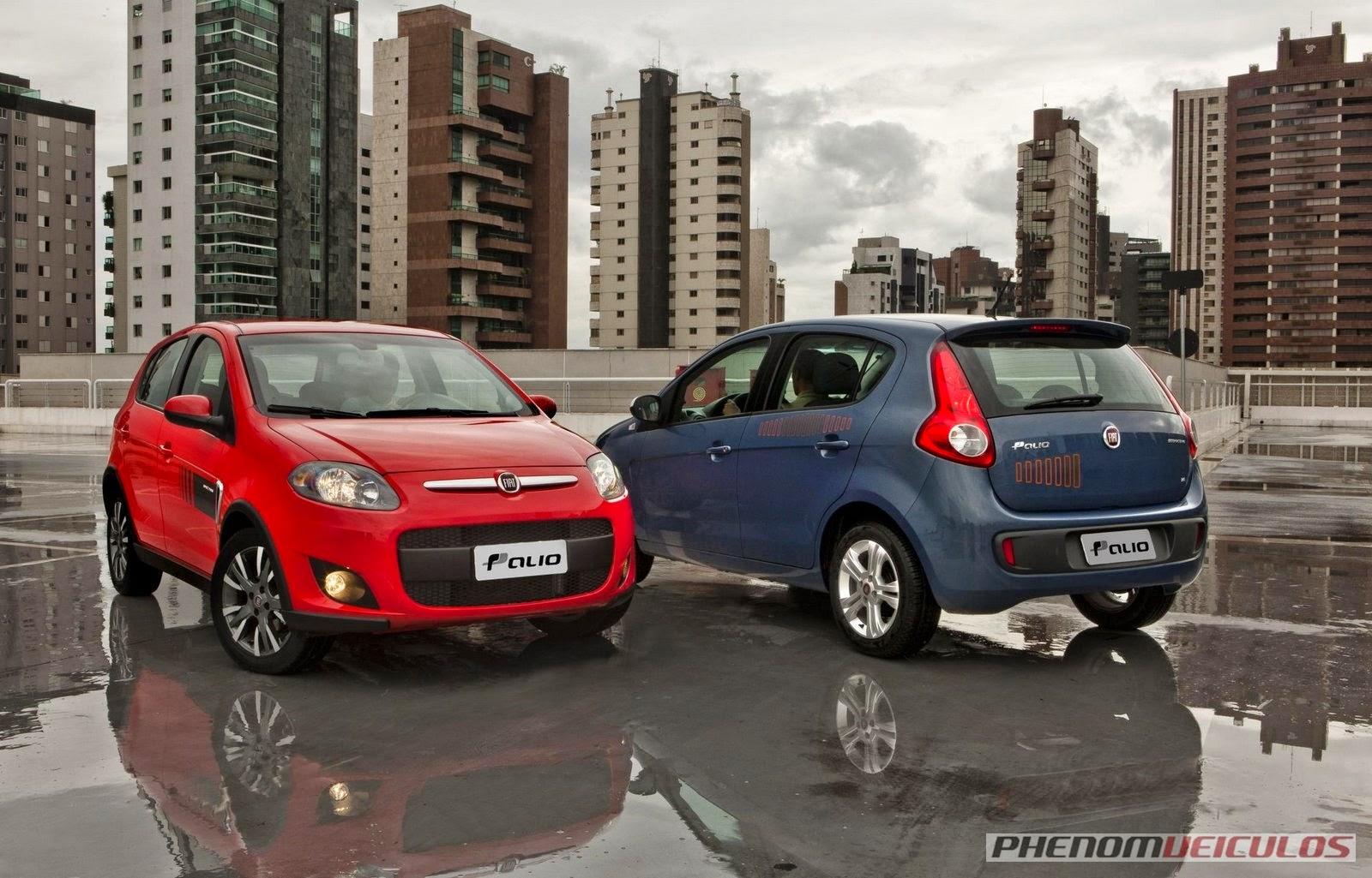 Fiat Palio já é divulgado como o carro mais vendido do Brasil