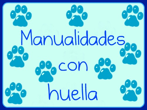 Manualidades con huella