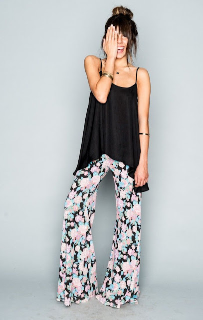 French terry floral sweats at Fitzroy Boutique