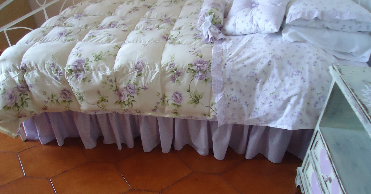 Ladolcecasadeicuori : gonnellina per il letto della princess!!!