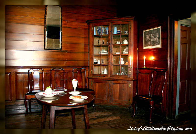 Williamsburg Virginia The Parlor At The King 39 S Arms Tavern Colonial