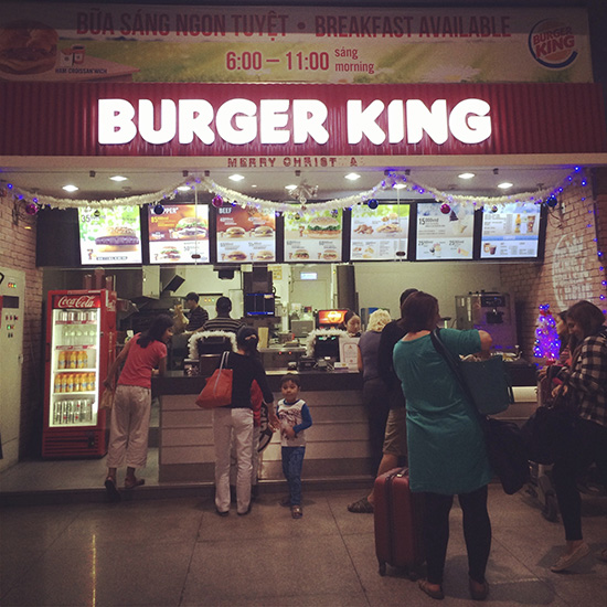 burger king in vietnam