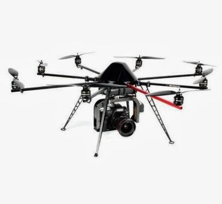 Ejemplo de drone arqueológico