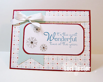It's the Most Wonderful Time of the Year card-designed by Lori Tecler/Inking Aloud-stamps from Verve Stamps