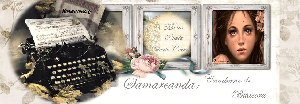 SAMARCANDA. CUADERNO DE BITACORA
