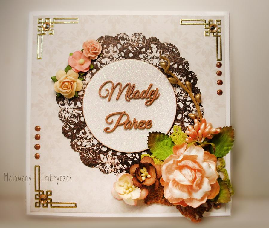 malowany-imbryczek-scrapbooking-handmade-wedding-kartka-ślub-rękodzieło