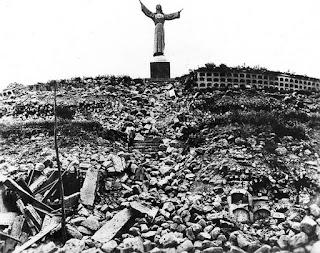Foto de la época del Cementerio de Yungay en el departamento de Ancash