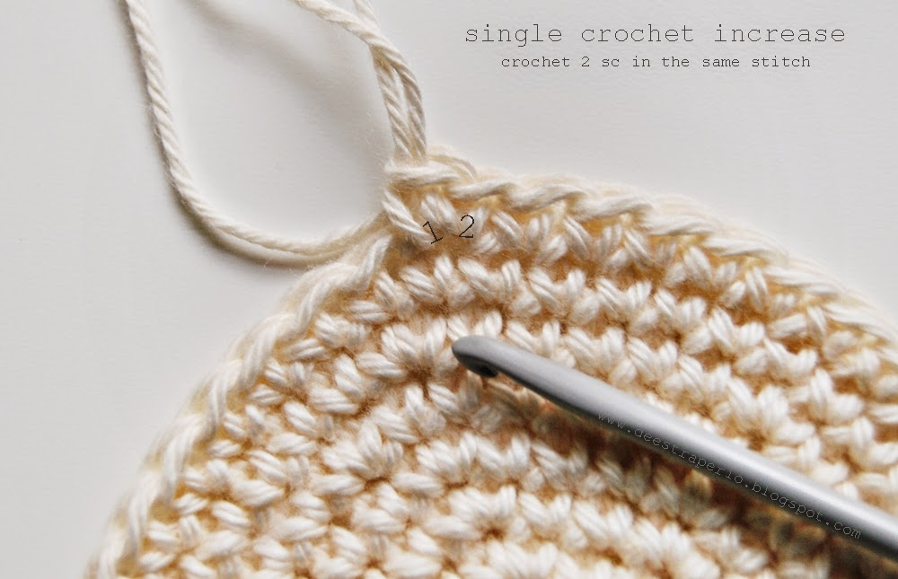 De Estraperlo: How to increase and decrease single crochet