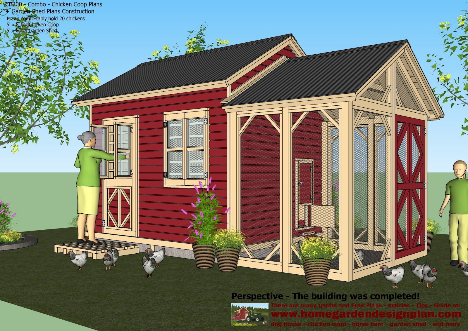storage shed chicken coop - Chicken Co Op Plans And Greenhouse