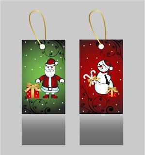 漫画タッチのクリスマス飾りと背景 beautiful christmas ornaments イラスト素材3
