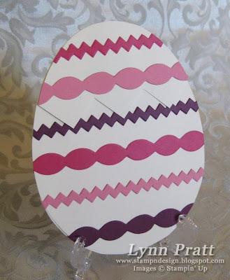 Stamp n design easter egg gift card holder easter egg gift card holder negle Choice Image