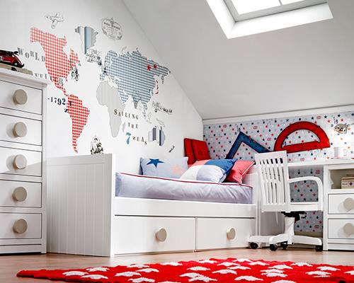Habitaciones de ni os genialessuper cute kids 39 bedrooms for Habitaciones infantiles garabatos