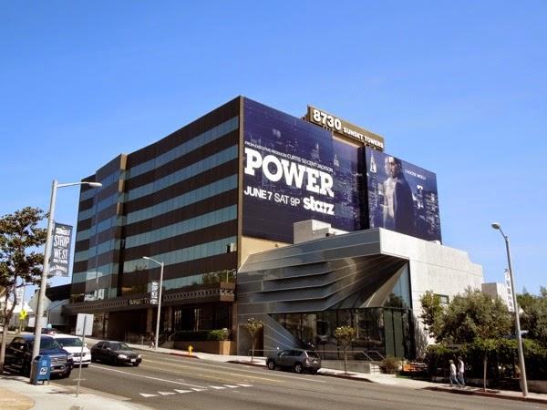 Giant Power season 1 billboard Sunset Strip