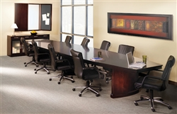 Luxurious Wood Conference Table