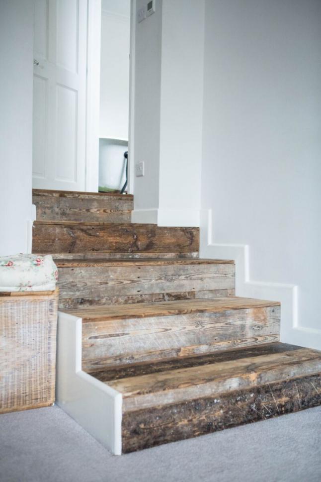Estilo rustico escaleras para casas rusticas for Fotos de escaleras rusticas