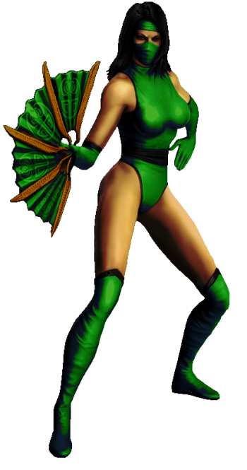 Jade com roupa cl  225 ssica de MK2 Jade Mk2