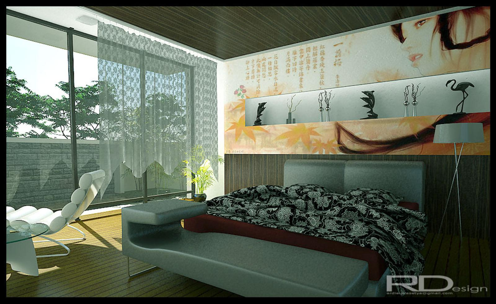 luxury modern bedroom