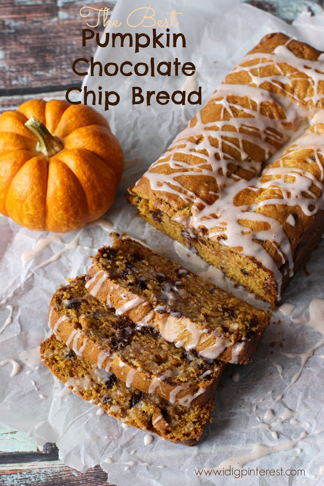 This Pumpkin Chocolate Chip Bread is everything a dessert bread should ...