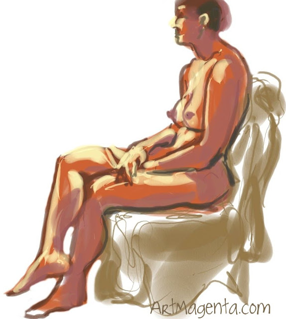 Life drawing from ArtMagenta.com