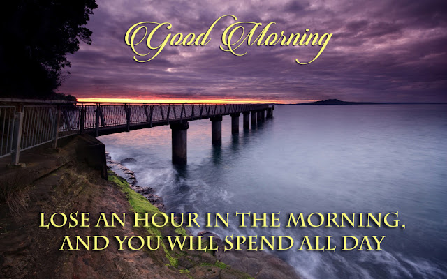 Quote good morning