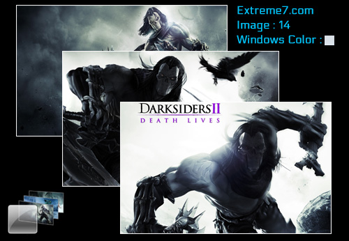 Darksiders II Theme for Windows7 and Windows 8
