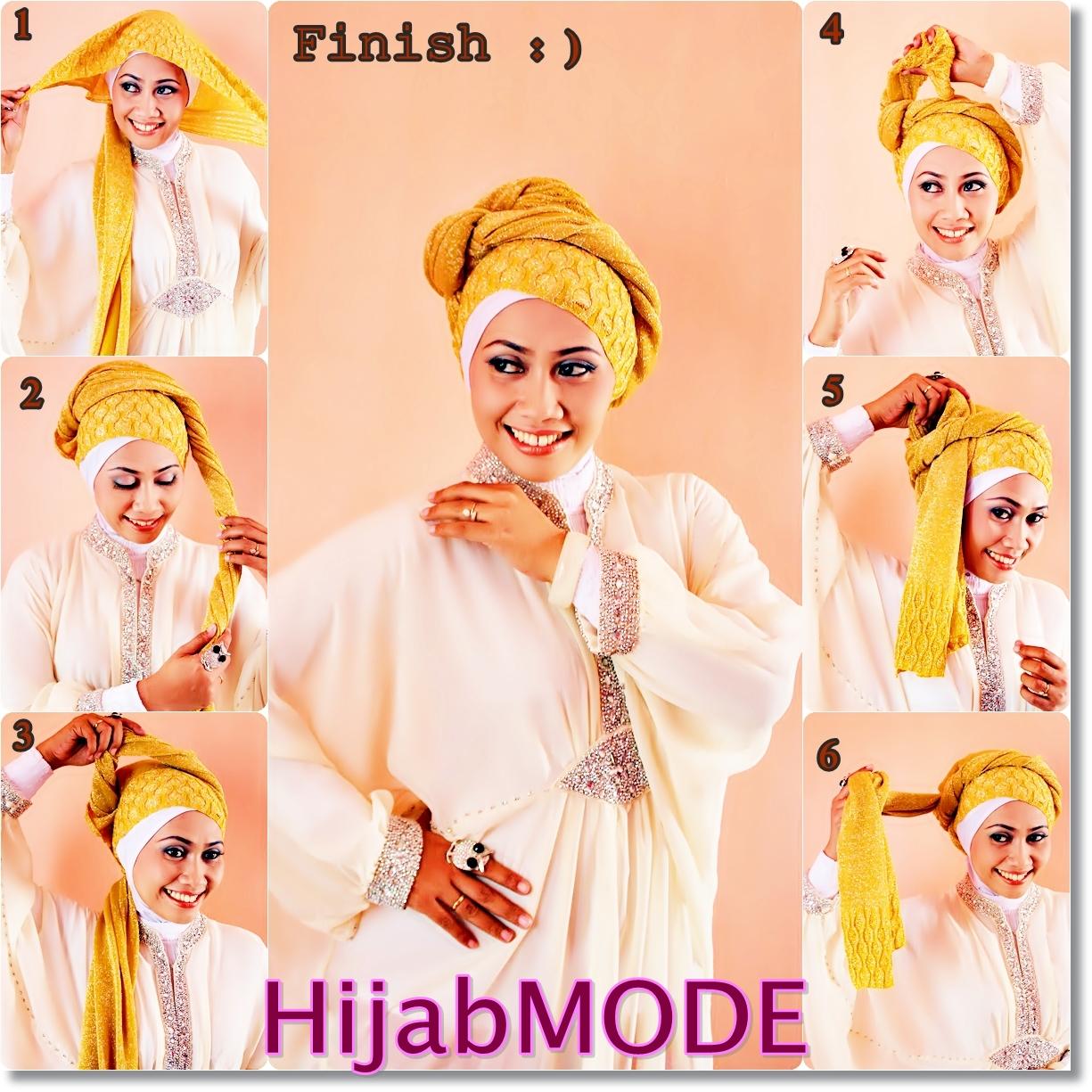 Hijab Mode TUTORIAL HIJAB GLITTER