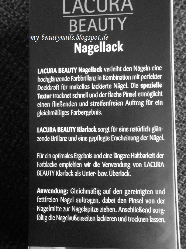 my beautynails lacura beauty nagellack. Black Bedroom Furniture Sets. Home Design Ideas