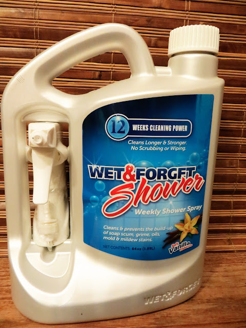 Wet & Forget Shower Spray