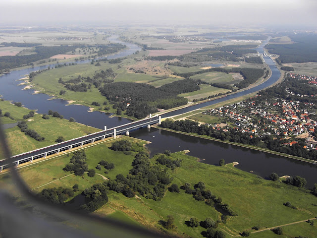Магдебургский водный мост. Фото