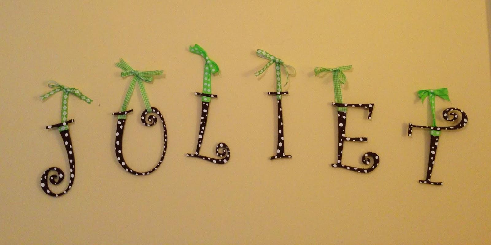 My So-Called (Mommy) Life: DIY Nursery Decor