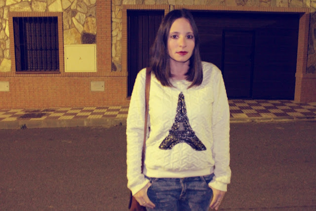 Jersey Torre Eiffel - Romwe