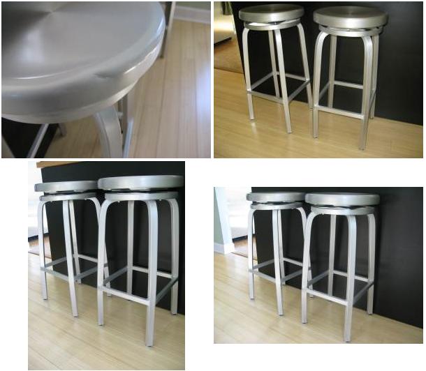 80 crate barrel aluminum stools aluminum crate barrel