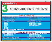 ACTIVIDADES MATEMATICAS 3º
