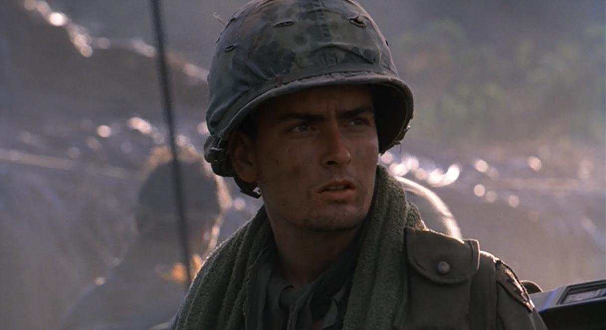 platoon essays Thus the classic movie platoon (oliver stone, 1986) was born, a box office  sensation and award winner that brought the war in vietnam home to america.
