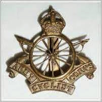 WW1 Army Cyclist Corps cap badge
