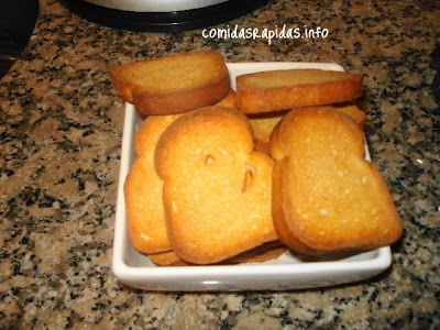 tostadas dulces