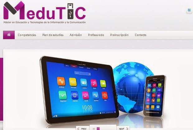 Master en Educación y TIC (MEDUTIC)