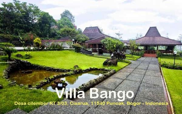 Villa Bango Puncak Bogor