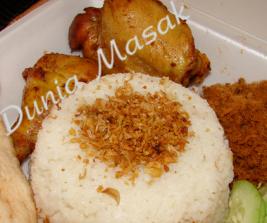 Dunia-Masak ~ Resep Membuat Nasi Uduk Menggunakan Rice Cooker