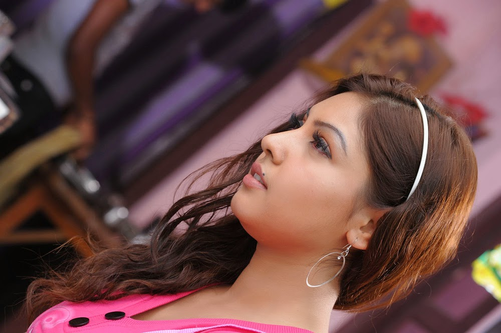 Komal Jha Glamorous Photos in Pink Top-HQ-Photo-8