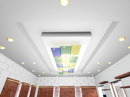 Serene Interiors: False Ceiling treatment