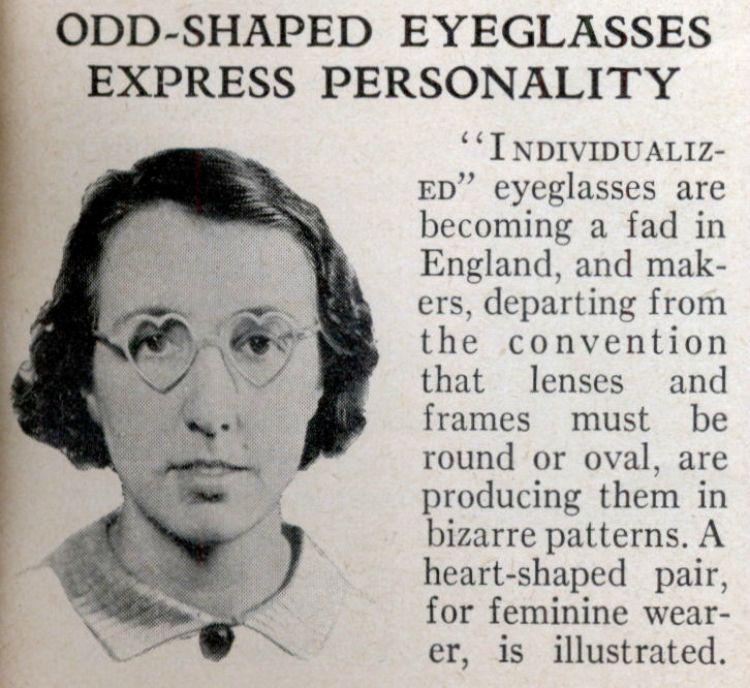 History of eyewear