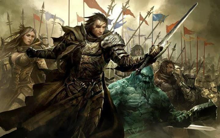 A guerra lendária