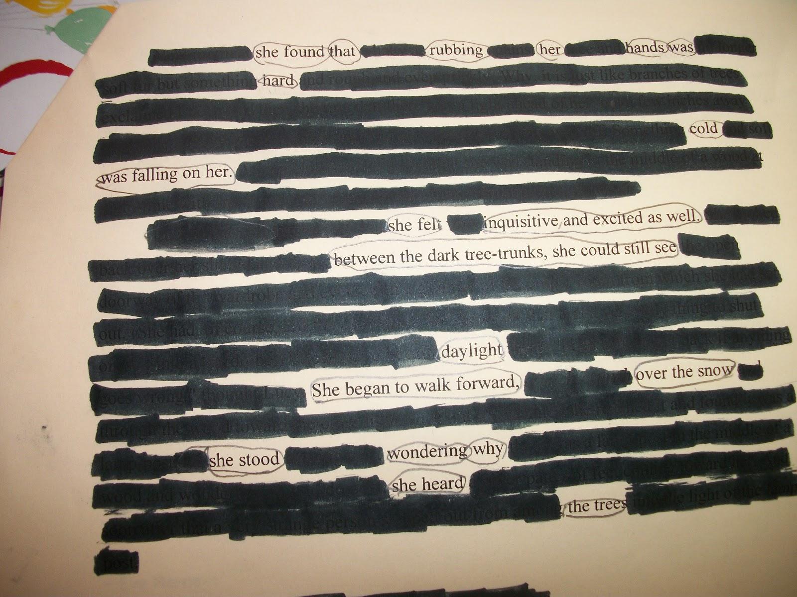 found poem to kill a mockingbird