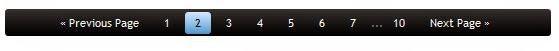 numbered page navigation for blogger blog