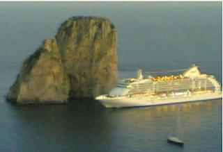 el salto en Capri