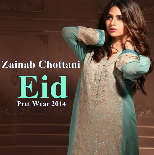 Zainab Chottani Eid Pret 2014