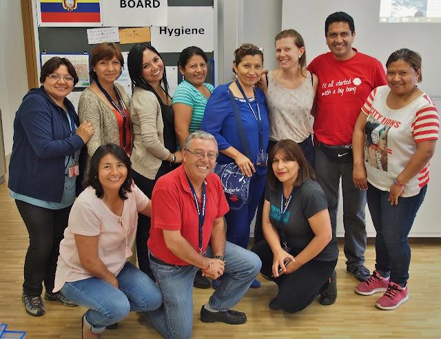 Meeting the Ecuadorians at IMC Fachhochschule Krems © IMC FH Krems